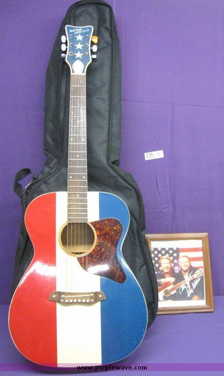 Red White And Blue Buck Owens Telecaster