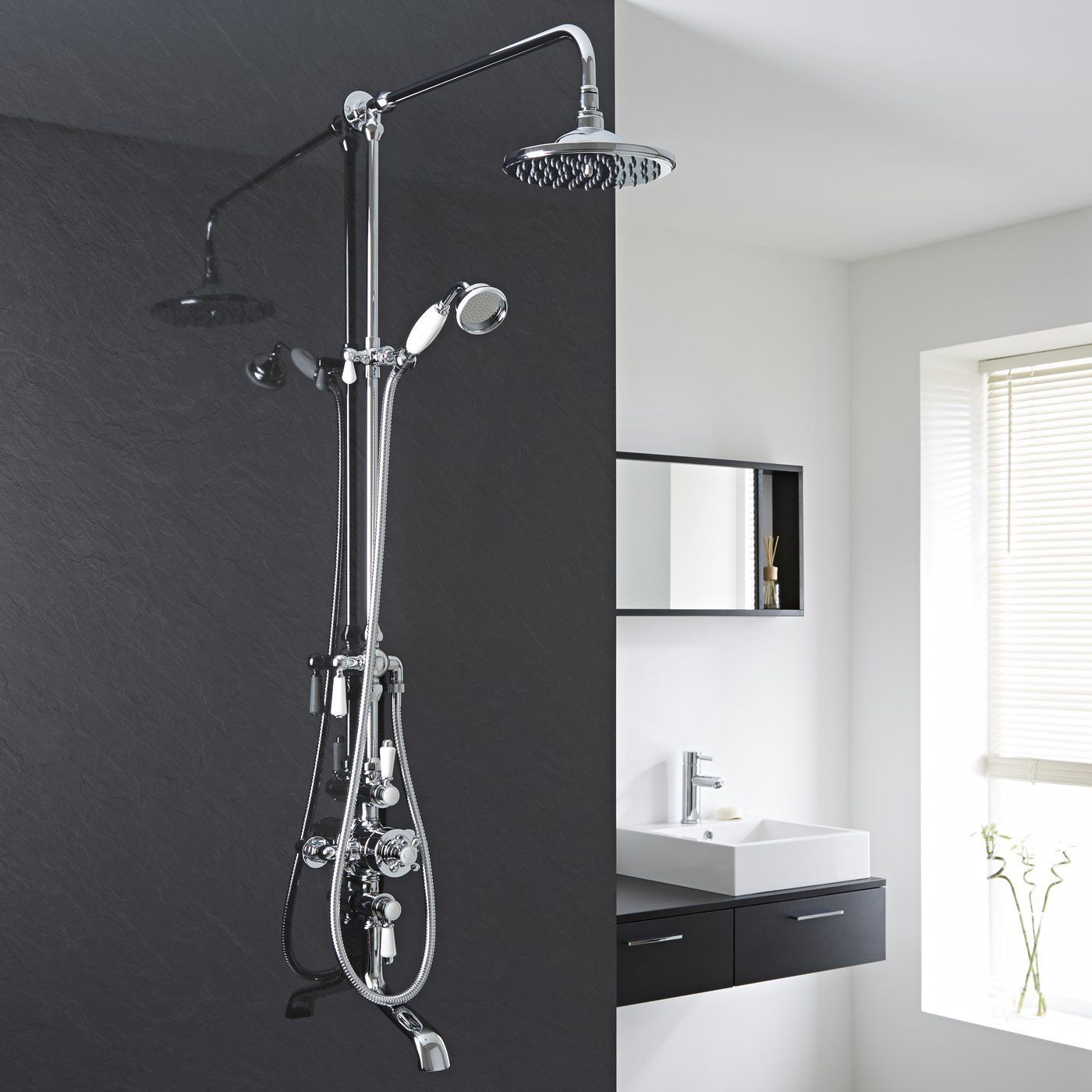Hudson Reed Traditional Shower System With Thermostatic
