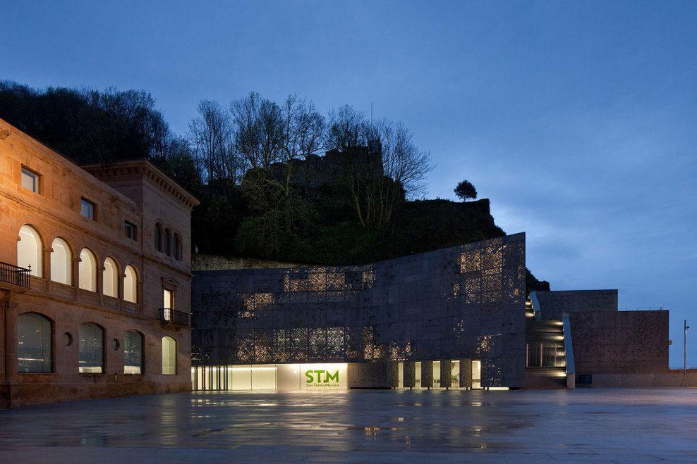 San Telmo Museum Extension, San Sebastian, Spain, by Nieto Sobejano Arquitectos