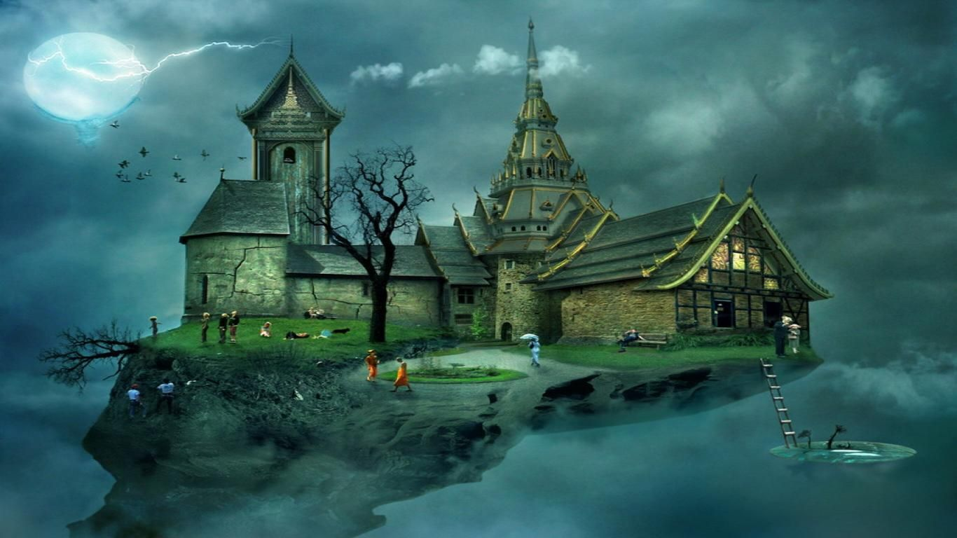 Fantasy Dark Castle Wallpaper Hd Images 3 HD Wallpapers