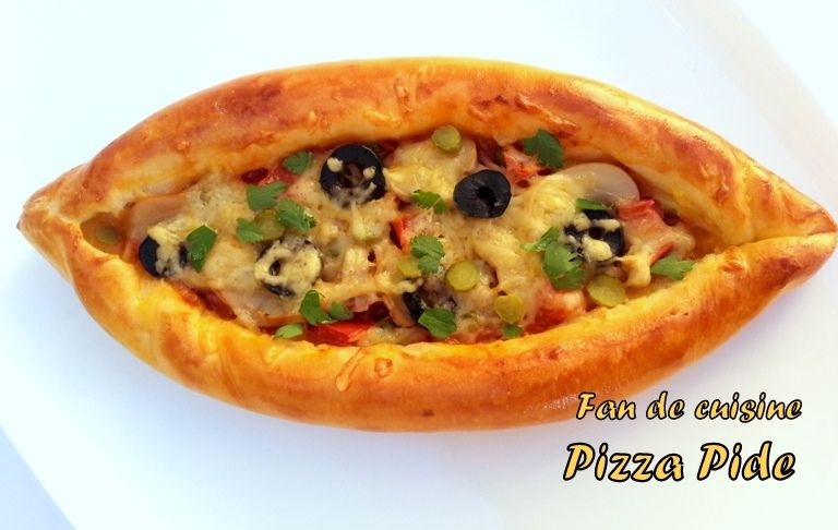 Pizza pide au thon (peynirli pide)