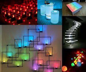 10 Creative Led Lights Decorating Ideas