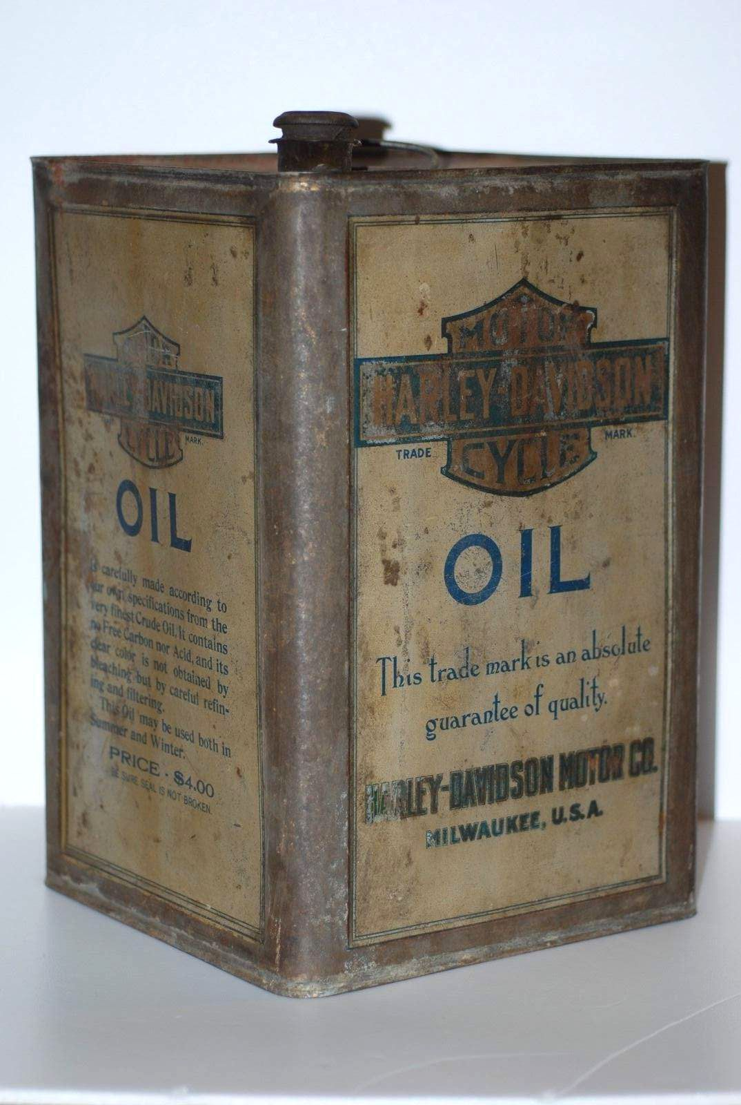 A Rare 1909 1 gallon motor oil can | Gas and oil | Pinterest | Latas ...