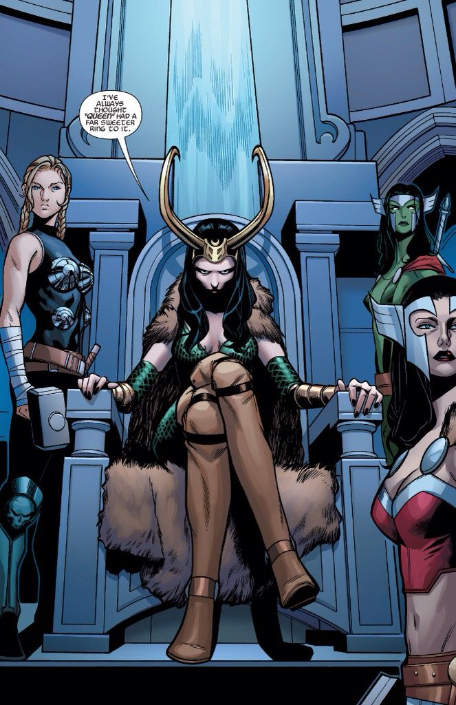 Lady Loki in A-Force #4 | Lady loki, Loki cosplay, Lady loki cosplay
