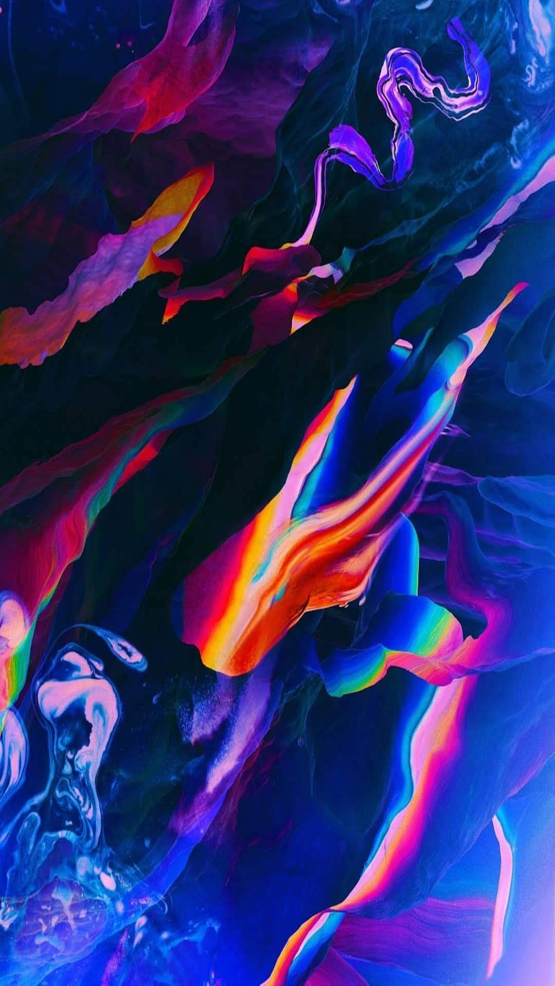 Abstract Art Abstract Amoled Liquid Gradient Abstract