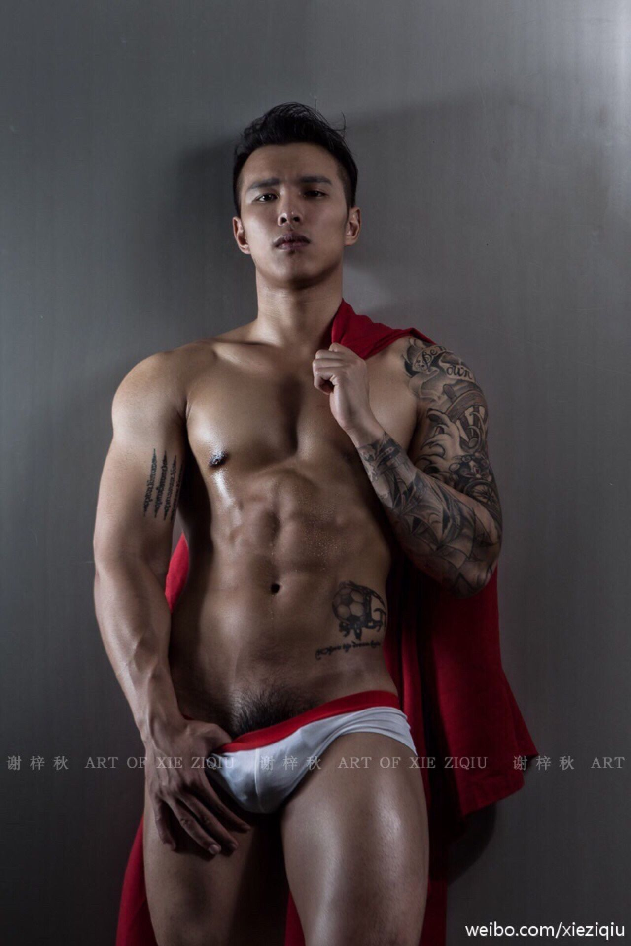 from Colin nude man male red riding hood