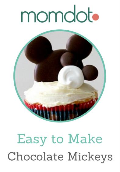 Cómo hacer Mickey Mouse's de chocolate.