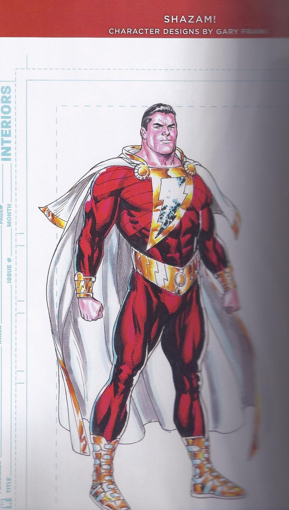 Shazam DC New 52 Gary Frank Character Designs art 1 | Comic Images ...