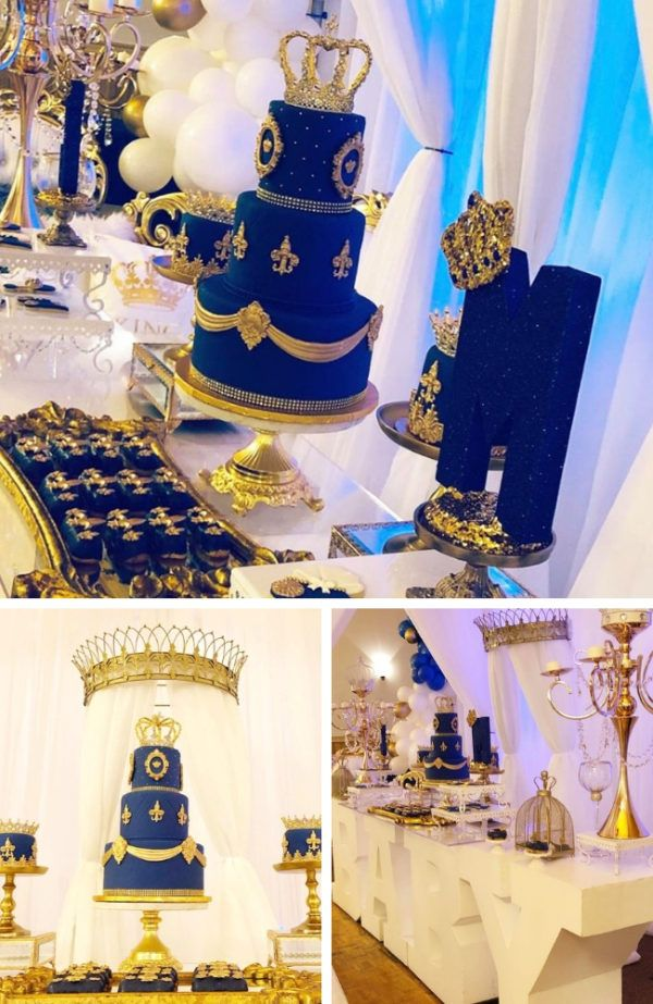 King Baby Shower Theme : shower, theme, Royal, Shower, Ideas, Themes, Games, Themes,, Showers,, Prince