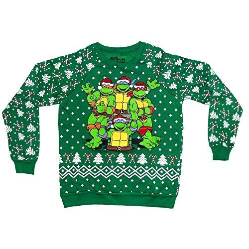 Ninja Turtles Ugly Christmas sweaters are here! Even the TMNT had ...