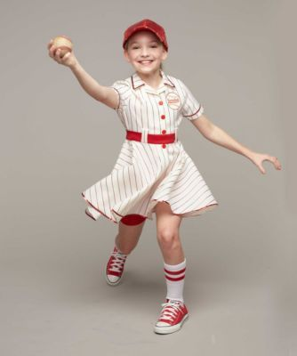 personalized retro baseball player costume for girls - Baseball Halloween Costume For Girls