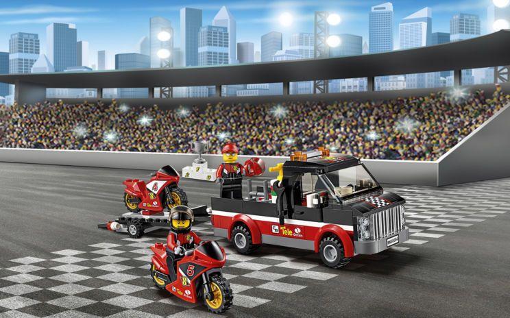 60084 Racing Bike Transporter - Products - City LEGO.com