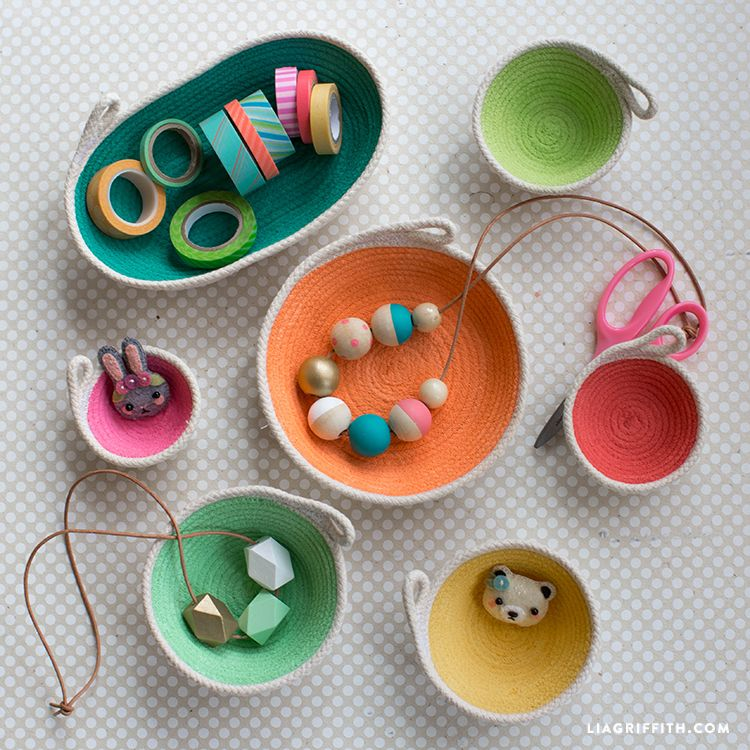 Cotton Clothesline Rope Fascinating Cotton Clothesline Mini Bowls Bowls Minis And Tutorials