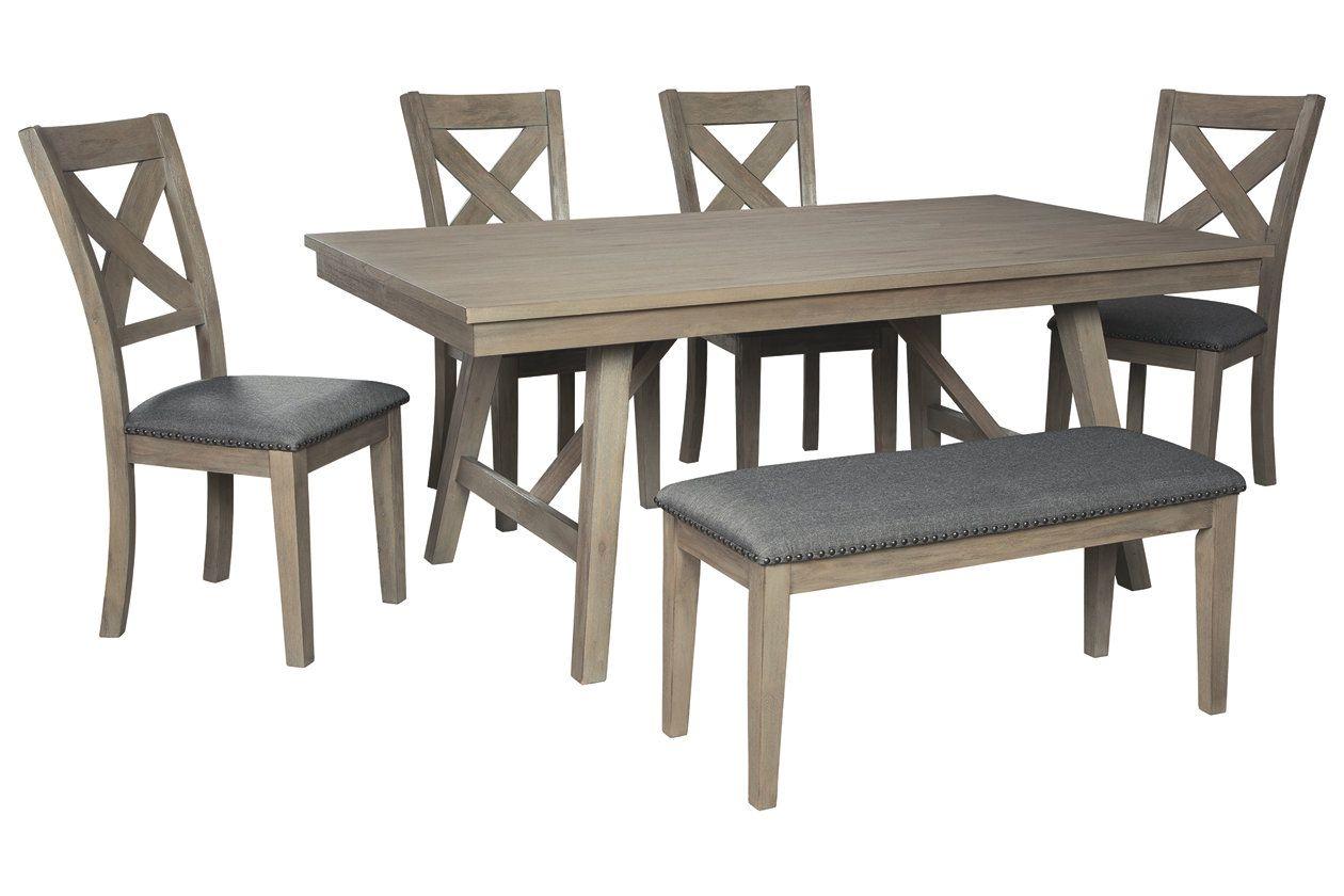 Aldwin Dining Room Table Ashley Furniture Homestore