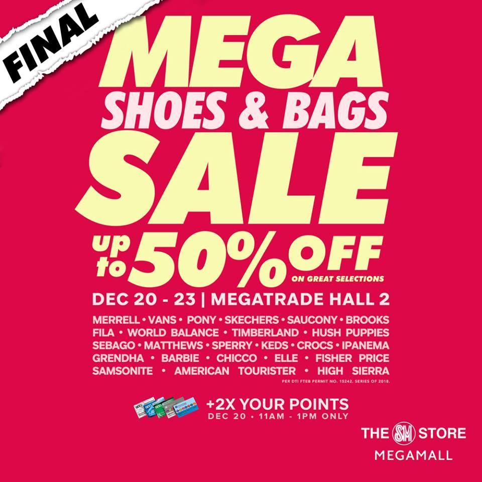 Final Mega Shoes And Bags Sale Until Dec 23 2018 Bag Sale Shoes Shoe Bag