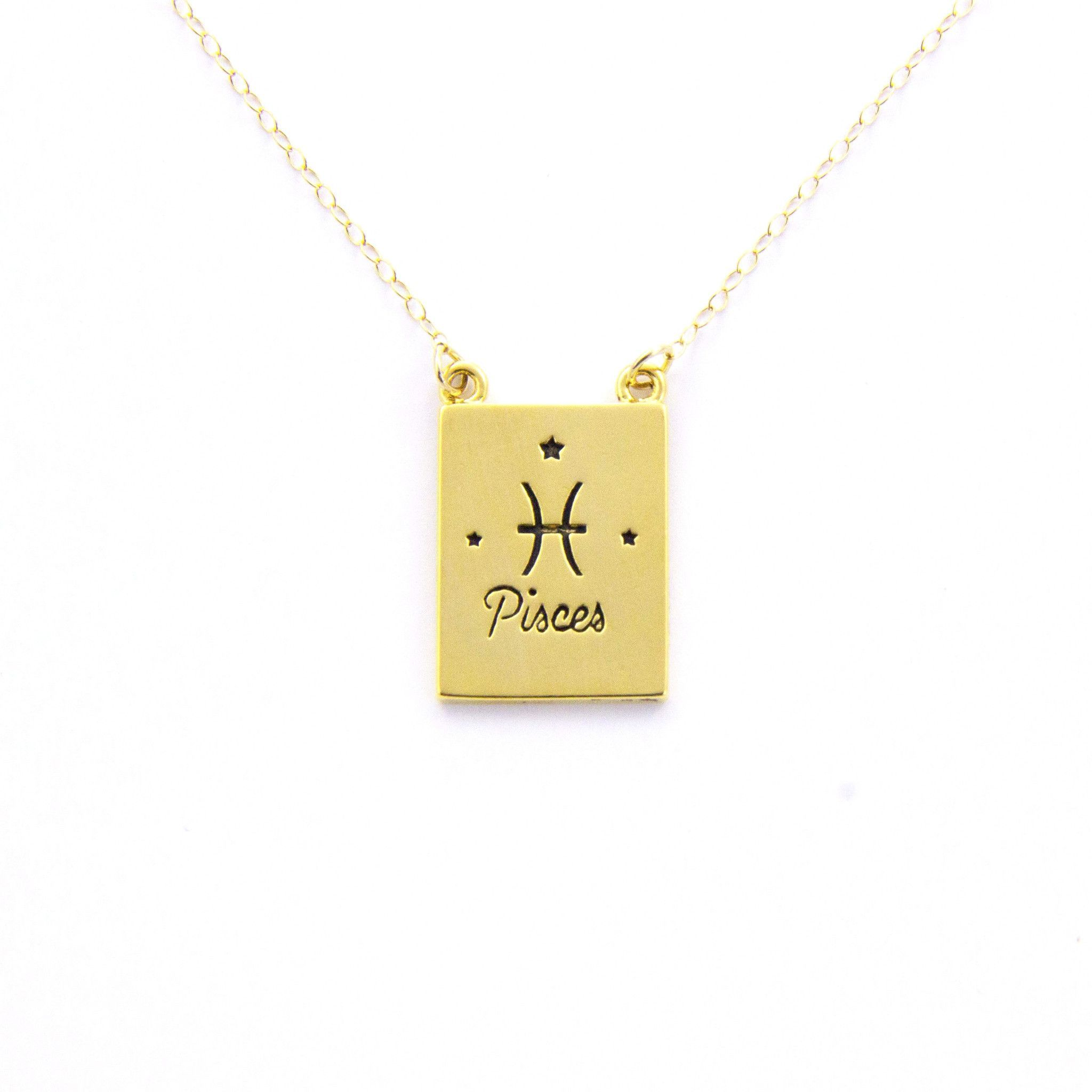 Pisces Necklace JEWELRY Pinterest
