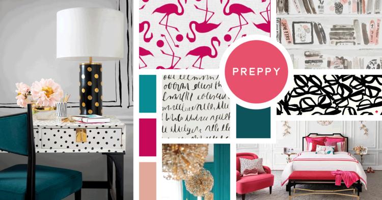 Preppy Interior Design Style Nbsp Sources Nbsp Flamingos