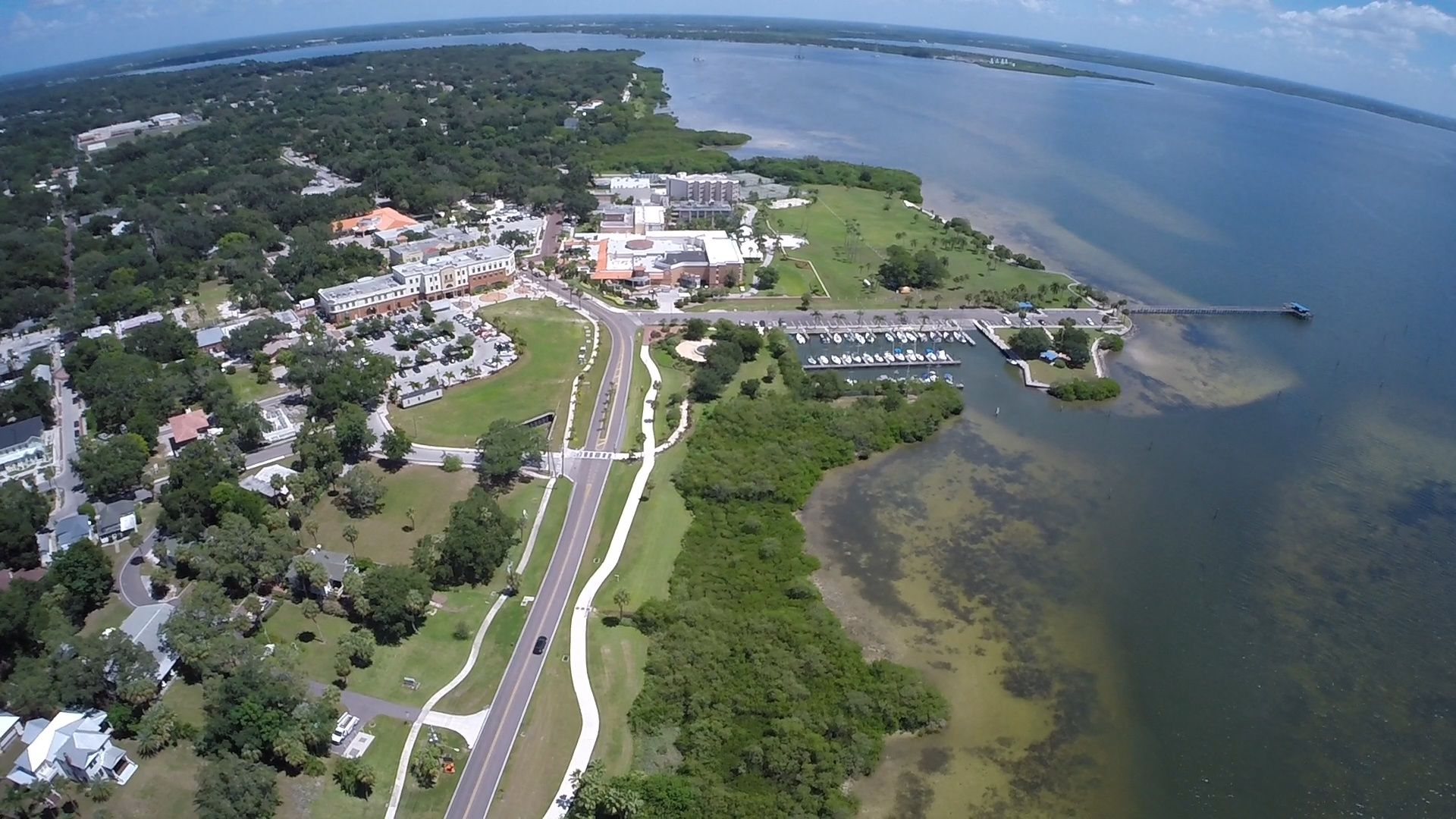 Safety Harbor, FL shot by Aerial Photographer Celebrations