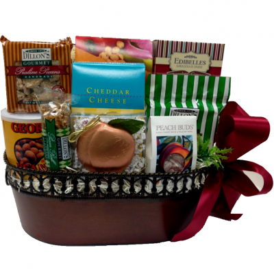 Grand Gourmet Georgia Gift Basket  sc 1 st  Pinterest & Grand Gourmet Georgia Gift Basket | Holiday Food and Crafts | Food ...