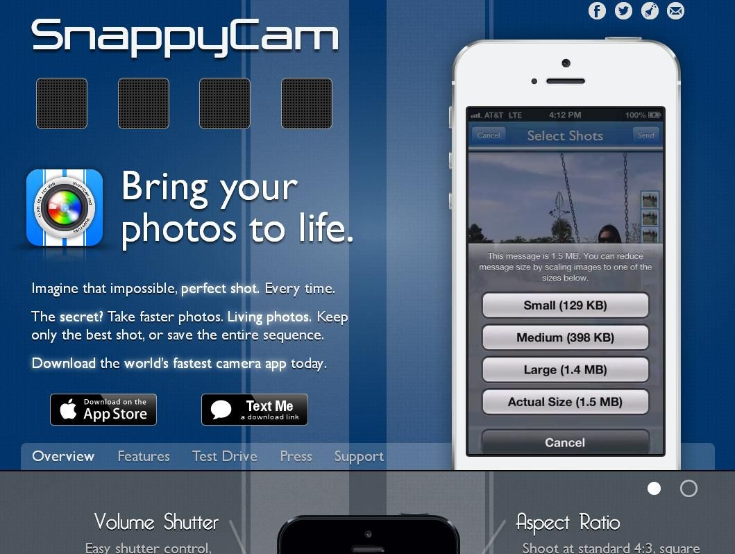 Apple on agreement to Purchase SnappyLab and its SnappyCam