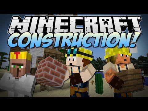 Minecraft CONSTRUCTION Turn Blueprints Into EPIC Kingdoms - Minecraft spiele youtube