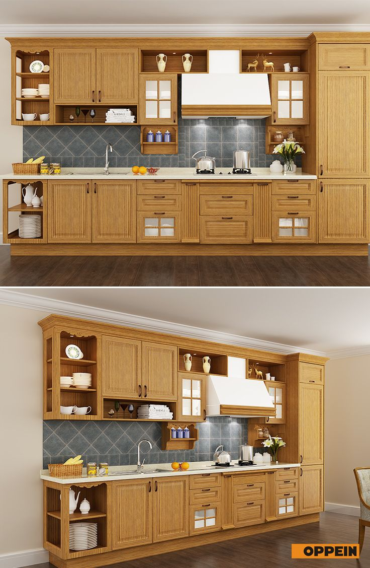 Traditional Red Oak Wood Kitchen Cabinet Armario De Madeira Armario De Cozinha Madeira Armario Cozinha