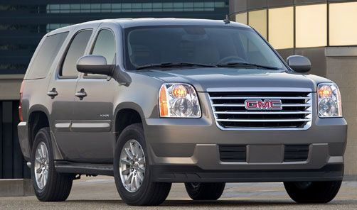 Gmc Yukon Hybrid Hybrid And Electric Vehicles 2010 Gmc Yukon