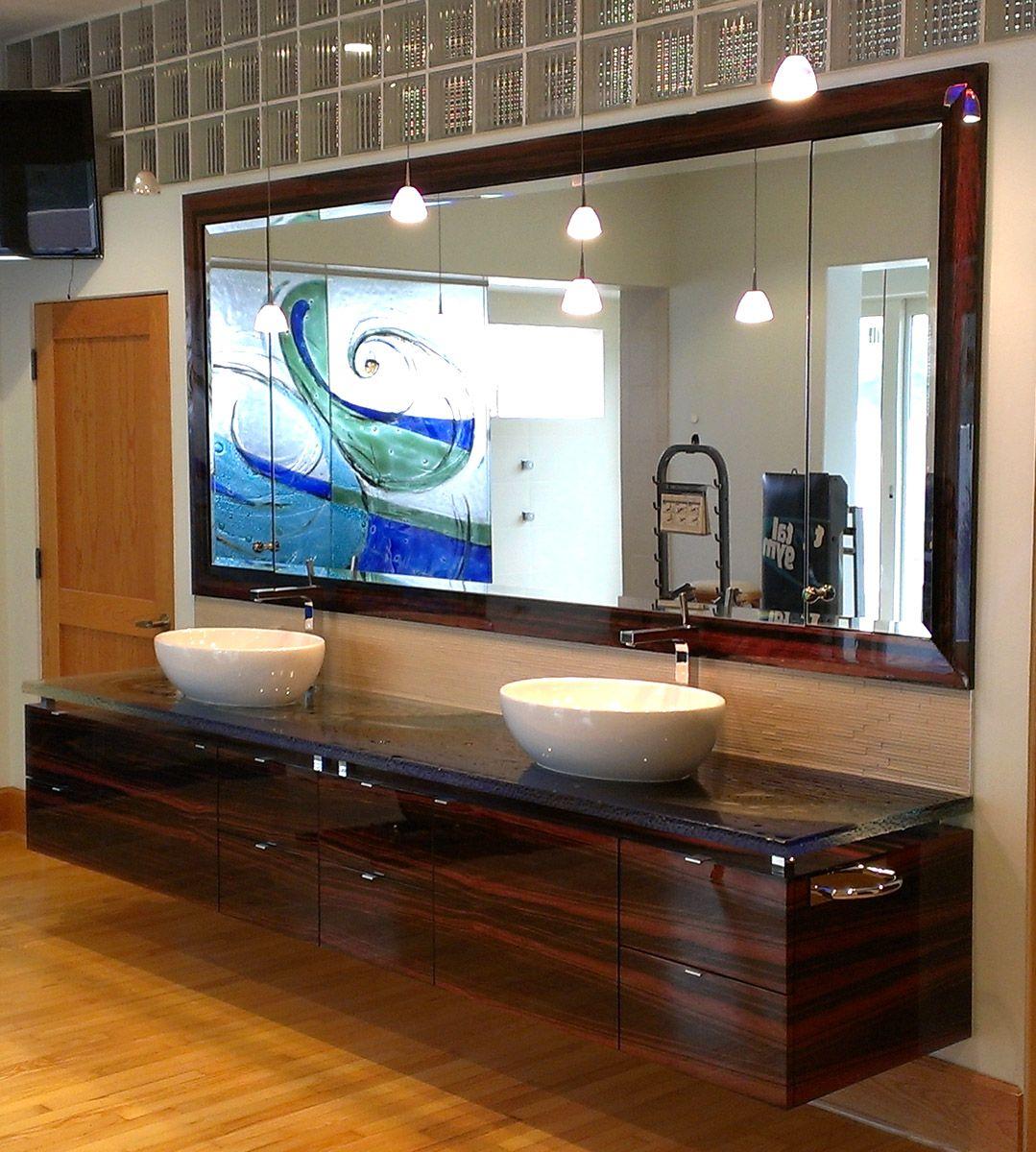 Pin Auf Wood Veneer Bathrooms