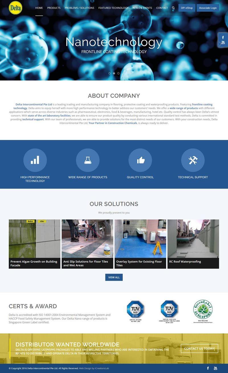 Website Delta Intercon Roof Waterproofing Delta House Certs