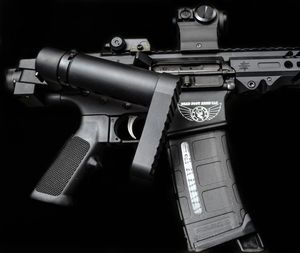 AR15 Side Folding Stocks & Accessories | Dead Foot Arms