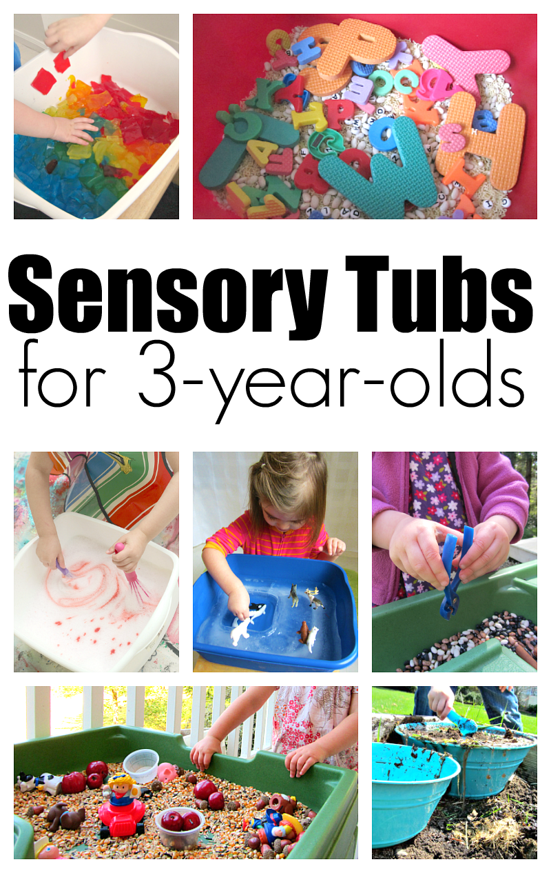 10 Sensory Tubs For 3 Year Olds 3 Year Old Preschool 3