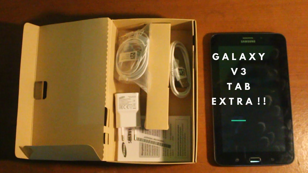Extra Review Tablet Android Samsung Galaxy Tab 3v
