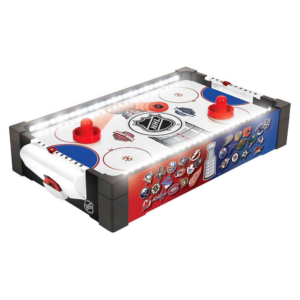 Nhl Eastpoint Table Top Hover Hockey Game In 2020 Hockey Games Skee Ball Arcade Games