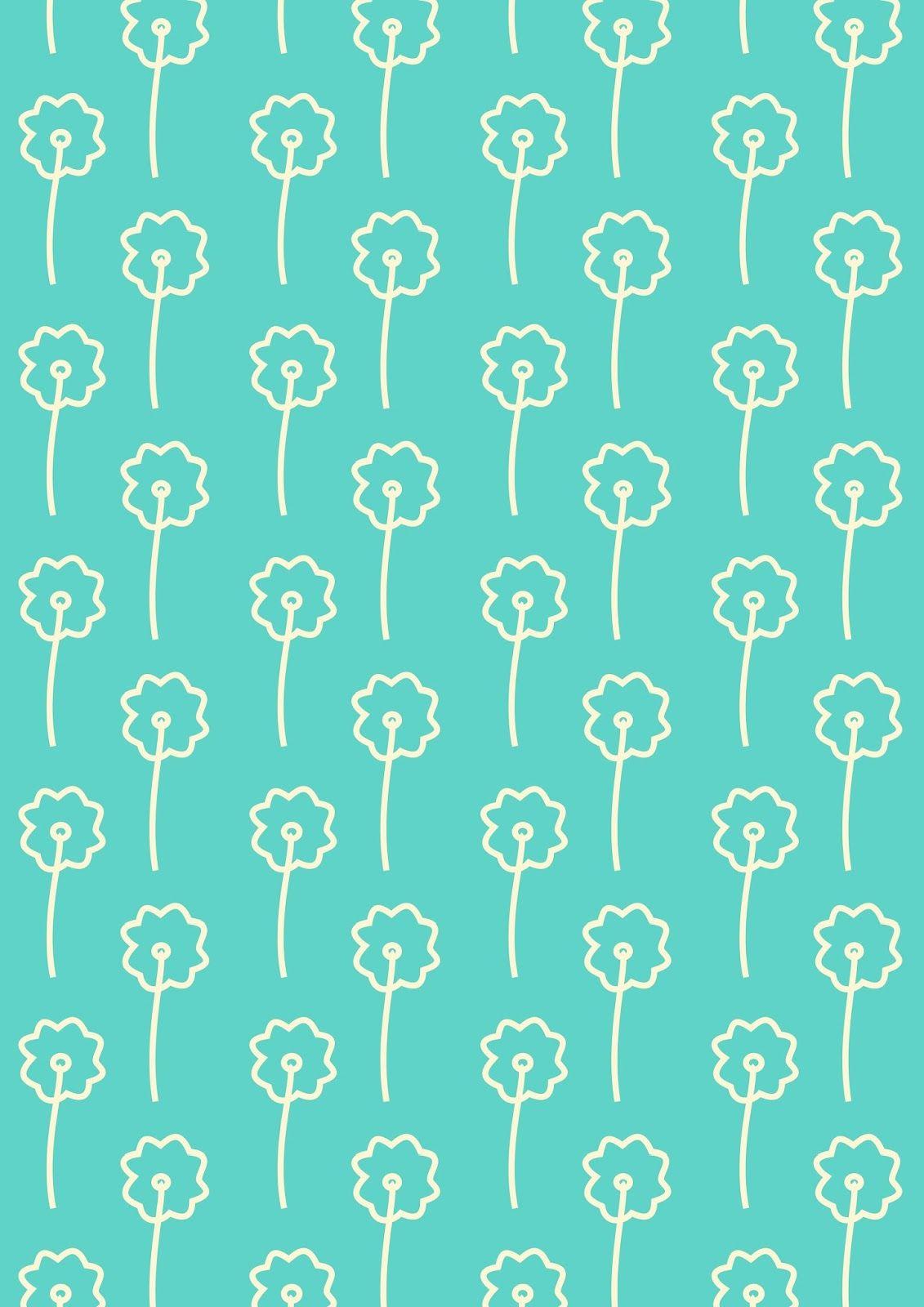 free printable turquoise white striped pattern paper free