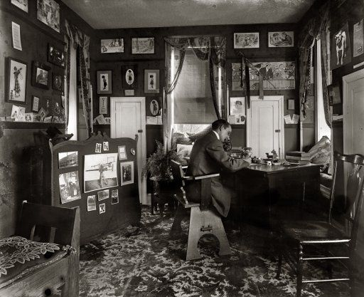 Home Office 1920 1920s Home Decor Shorpy Historical Photos Photo