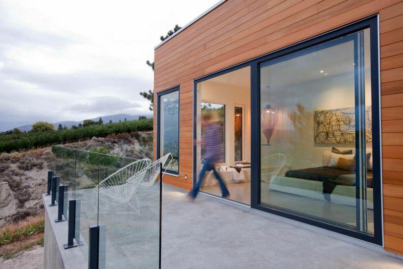 Interieur in Weiß und Marmor – Modernes Blockhaus Design ...