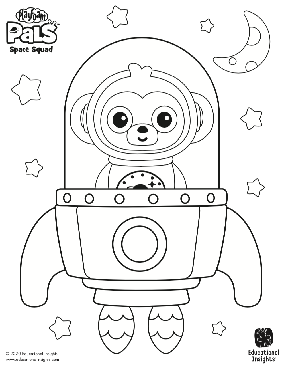 Free Downloads For Kids Printable Coloring Sheets Featuring Playfoam Pals Space Squad Cool Coloring Pages Free Printable Coloring Sheets Space Coloring Pages [ 1286 x 990 Pixel ]