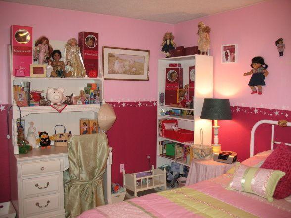 American girl room decorating ideas iron blog for Dollhouse bedroom ideas