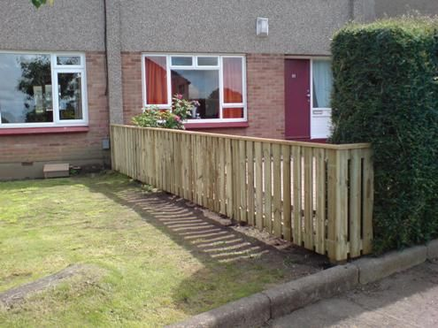 Edinburgh garden fence installed backyard pinterest garden edinburgh garden fence installed workwithnaturefo