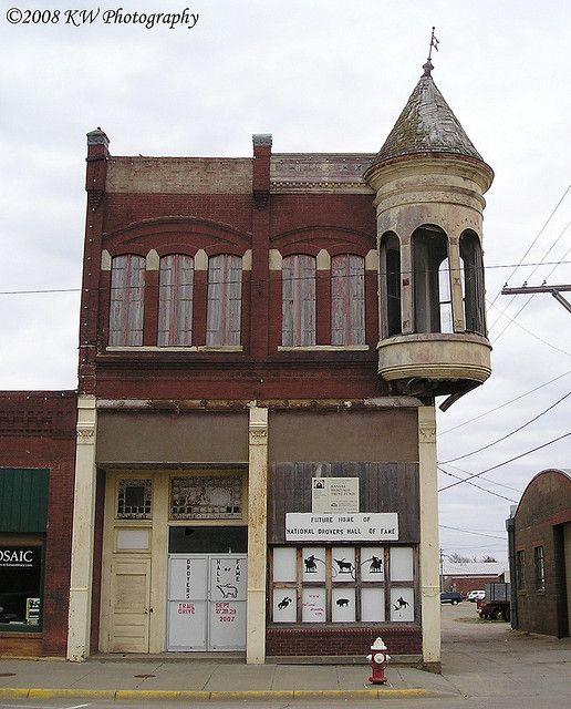 Building, Kansas, Old Buildings