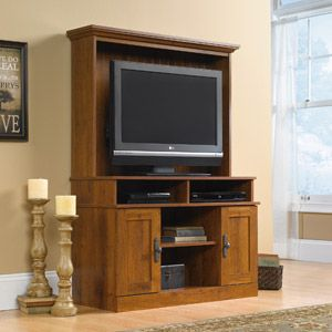 Sauder Harvest Mill Entertainment Center For Tvs Up To 39 Abbey