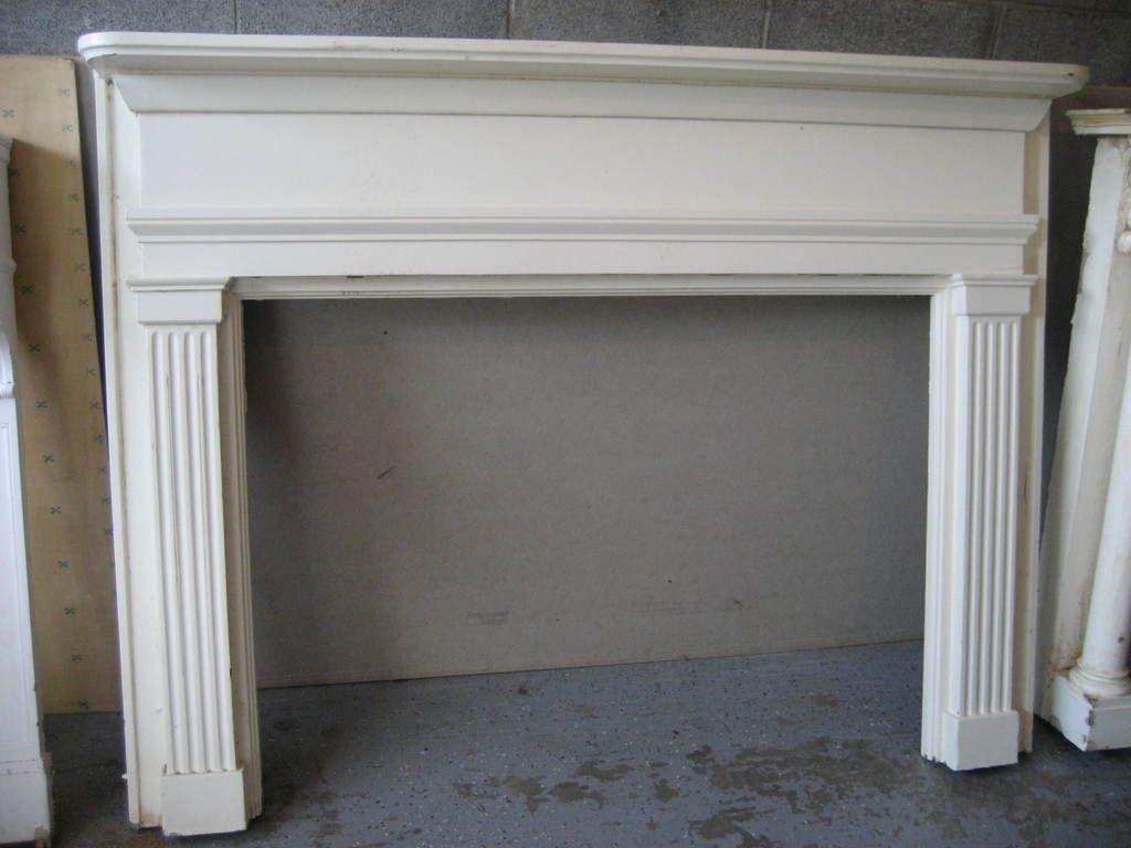 Simple fireplace mantel fireplace ideas pinterest antique