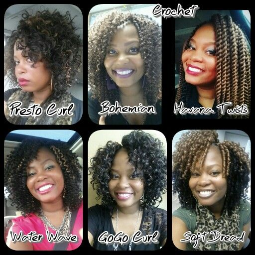 Diffe Freetress Curl Patterns For