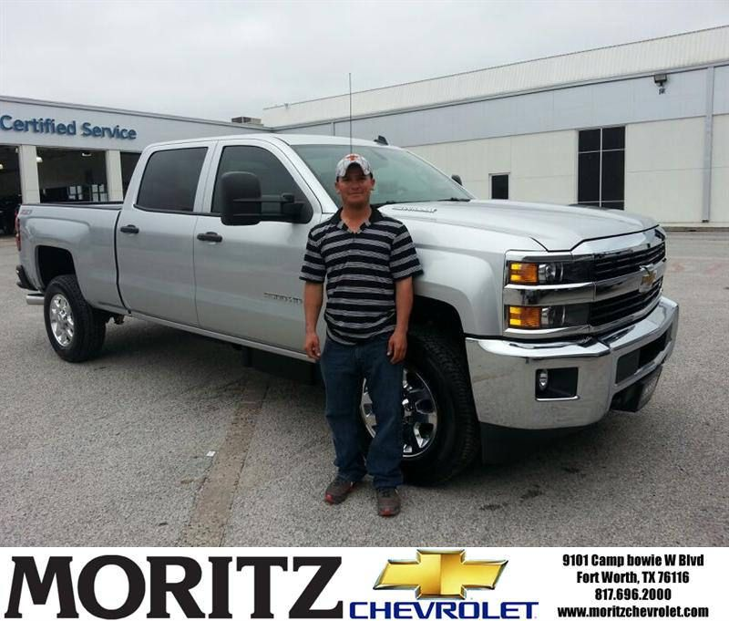 Congratulations to Jorge Villa on your #Chevrolet #Silverado 2500Hd purchase from Kathryn Underwood at Moritz Chevrolet! #NewCar