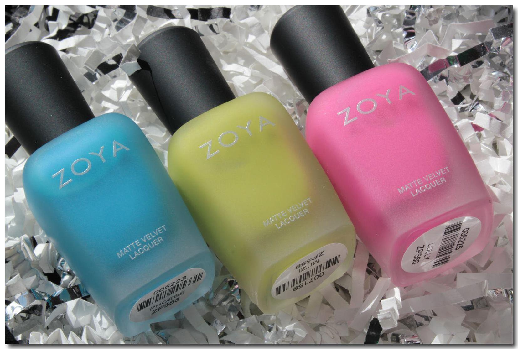 want!!! matte nail polishes
