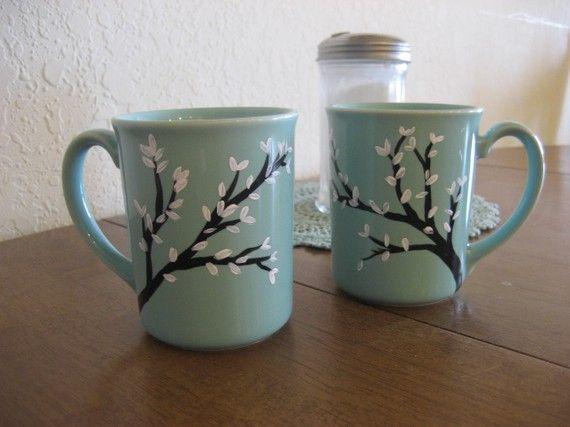 1000 Ideas About Painted Coffee Mugs On Pinterest Coffee Mugs