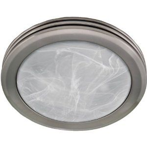Buy The Hunter 90053 Brushed Nickel Direct. Shop For The Hunter 90053  Brushed Nickel 2 Light Bathroom Fan With Light From The Saturn Collection  And Save.