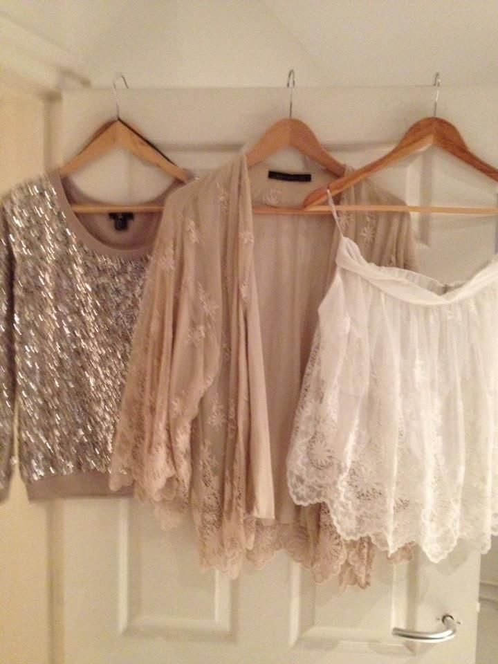 Summertime lace and sparkles...via@Geraldine Caraballo Stylingguide