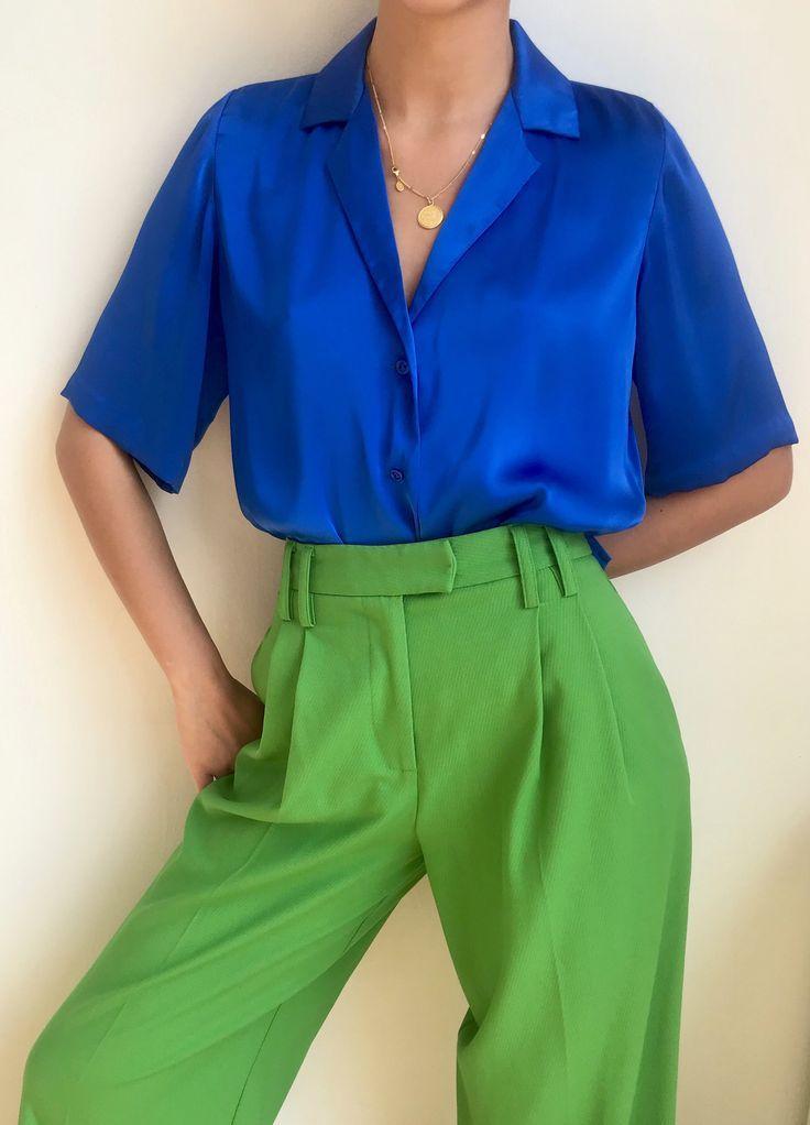 LE FUNK COBALT BLUE | Orseund Iris #Fashion #FashionColor #FashionTrends #FashionInspiration #Color #ColorTrends #ColorOfTheYear #ClassicBlue