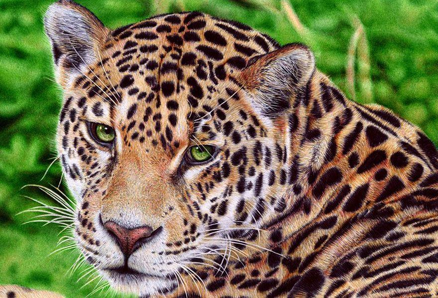 Hyper-realistische Gemälde